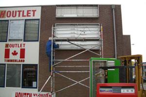 Lichtreclame monteren in amsterdam
