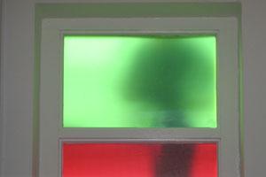 Semitransparante raamfolie vlakglas blindering ramen folie