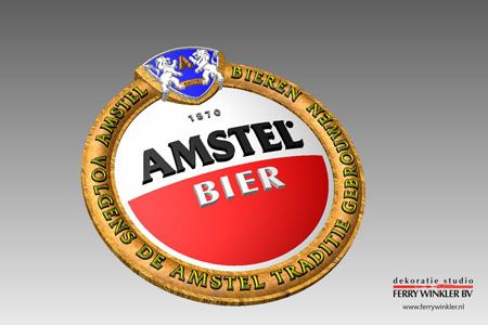 amstel_bier_3d_logo