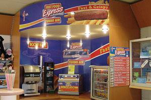 Reclamebord fast food fotopaneel