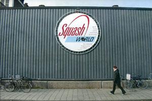 Spandoek rond squash world