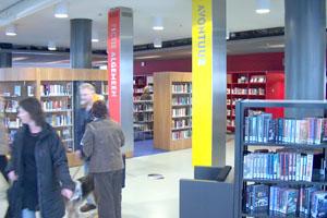 Bibliotheek bewegwijzering