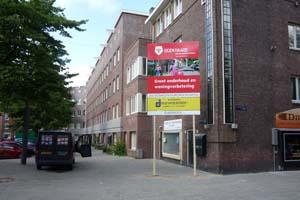 Bouwbord amsterdam bouw bord
