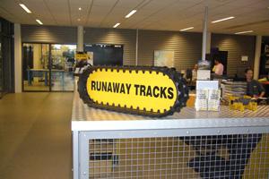 Reclame bord runawaytracks