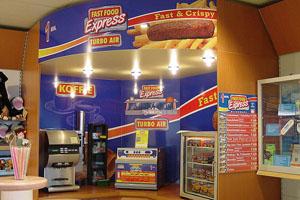 Reclameborden fast food