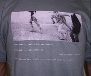 Foto op shirt