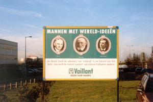 Poster op billbord