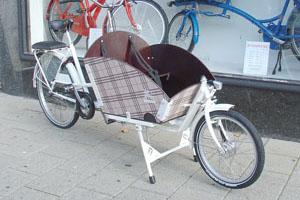Stickers voor op bak fiets