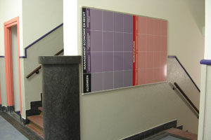 Bewegwijzering hogeschool hbo nederland magnetisch whiteboard white board