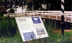 Landschaps informatie bord