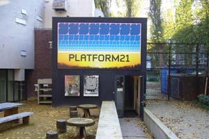 Spandoek platform 21 amsterdam