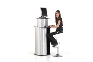 Counters multimedia desk