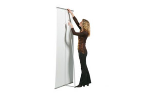 Bannerstands slimbanner roll up 3