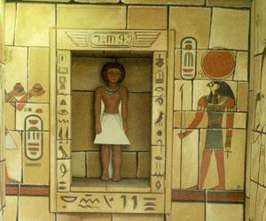 3d egypte interieur