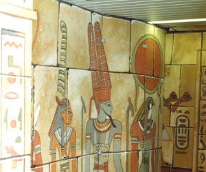 3d egypte wand