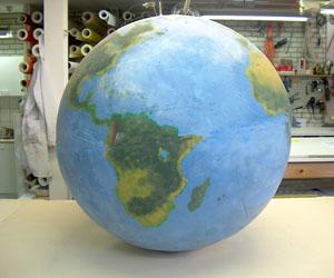 3d wereldbol