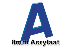 8mm acrylaat amsterdam