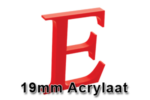 19mm acrylaat amsterdam