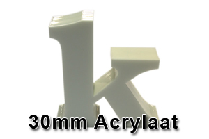 30mm acrylaat amsterdam