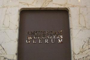 Zilveren spiegel letters