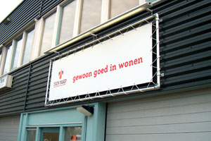 Spandoekframe eigen haard amsterdam