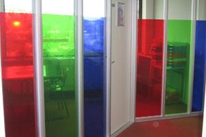 Ramen kleuren transparant